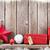 hó · fenyőfa · karácsony · dekoráció · kötél · rusztikus - stock fotó © karandaev