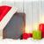 alegre · Navidad · memorándum · árbol · de · navidad · libros · árbol - foto stock © karandaev