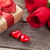 valentines day gift box roses and candy hearts stock photo © karandaev
