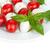 ensalada · caprese · ingredientes · mozzarella · queso · frescos · albahaca - foto stock © karandaev