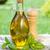 olive oil bottle pepper shaker and basil stock photo © karandaev