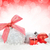 christmas colorful decor over snow stock photo © karandaev