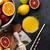 fresh ripe citruses and juice lemons limes and oranges stock photo © karandaev
