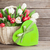 colorful tulips bouquet and gift box stock photo © karandaev