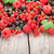 fresh ripe berries on wooden table stock photo © karandaev