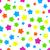 colorful seamless background with stars stock photo © karandaev