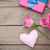 valentines day background with gift box full of pink roses and h stock photo © karandaev