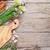 taze · otlar · baharatlar · bahçe · tablo · üst - stok fotoğraf © karandaev