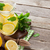 caseiro · limonada · fresco · limão · framboesas · festa - foto stock © karandaev