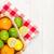 cítrico · frutas · cesta · laranjas · limões · branco - foto stock © karandaev