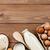frescos · huevos · vidrio - foto stock © karandaev