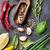 azeite · alecrim · alho · cebola · cozinha - foto stock © karandaev