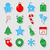 karácsony · ikon · gyűjtemény · végtelen · minta · karácsony · tél · ünnepek - stock fotó © karandaev