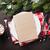 christmas dinner plate silverware fir tree hot chocolate stock photo © karandaev