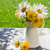 fresh garden flower bouquet stock photo © karandaev
