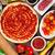 pizza · fa · hozzávalók · pizza · szelet · sajt · paradicsomok - stock fotó © karandaev