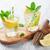 limonada · limão · de · gelo · mesa · de · madeira · água - foto stock © karandaev