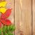 gelb · Herbstlaub · Altholz · wet · dunkel · Holz - stock foto © karandaev
