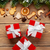 gift boxes over christmas wooden background stock photo © karandaev