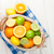 цитрусовые · плодов · корзины · апельсинов · лимоны · белый - Сток-фото © karandaev