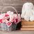 flor-de-rosa · livro · velho · livro · branco · flor - foto stock © karandaev