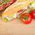 гриль · Бутерброды · ветчиной · сыра · Top - Сток-фото © karandaev