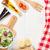 sağlıklı · salata · sağlıklı · gıda · taze · domates - stok fotoğraf © karandaev