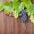friss · piros · fehér · szőlő · vízcseppek · izolált - stock fotó © karandaev