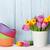 свежие · розовый · Tulip · цветы · букет · шельфа - Сток-фото © karandaev