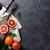 果物 · ナイフ · 表 · 食品 · リンゴ · フルーツ - ストックフォト © karandaev