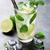 mojito · cocktail · donkere · steen · tabel · vruchten - stockfoto © karandaev