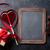 vörös · szalag · ajándék · íj · fekete · születésnap · doboz - stock fotó © karandaev
