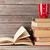старые · книгах · открытых · деревянный · стол · бумаги · школы - Сток-фото © karandaev