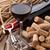 wijn · hoop · rustiek · houten · tafel · top - stockfoto © karandaev