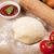 pizza · főzés · hozzávalók · paradicsomok · tészta · étel - stock fotó © karandaev
