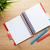 biuro · tabeli · kwiat · notatnika · kolorowy · ołówki - zdjęcia stock © karandaev