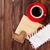 vecchio · busta · legno · copia · spazio · mail · bordo - foto d'archivio © karandaev
