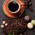 chocolade · cake · lint · pauze · gastronomie · culinair - stockfoto © karandaev