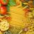 パスタ · トマト · ニンニク · 先頭 · 表示 - ストックフォト © karandaev