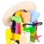 bag with towels sunglasses hat and beach items stock photo © karandaev