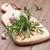 新鮮な · 庭園 · ローズマリー · まな板 · 木製のテーブル · 緑 - ストックフォト © karandaev