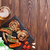 BBQ · kiełbasy · czerwony · mięsa · grill · mężczyzna - zdjęcia stock © karandaev