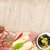 red wine with cheese olives tomatoes prosciutto bread and sp stock photo © karandaev