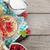 kahvaltı · müsli · karpuzu · süt · portakal · suyu · ahşap · masa - stok fotoğraf © karandaev