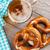 beer mug and pretzel stock photo © karandaev