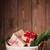 natal · cesta · completo · presentes · cartão · apresentar - foto stock © karandaev