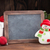 christmas chalkboard snowman and tree stock photo © karandaev