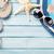 пляж · Солнцезащитные · очки · Starfish - Сток-фото © karandaev