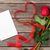 red roses and valentines day card stock photo © karandaev