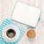 coffee cookies and notepad stock photo © karandaev